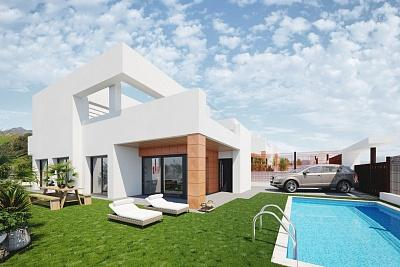 12 new build limited edition villas in the urbanization of Sierra Cortina