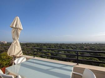 Penthouses at Costa Blanca when the dunes become your everyday landscape